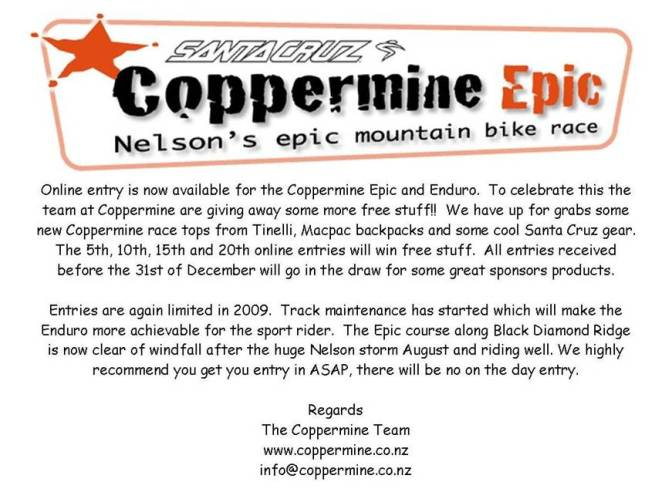 Coppermine Epic
