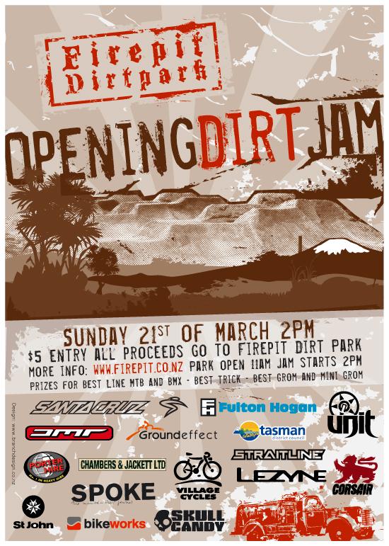 Firepit dirtpark opening jam